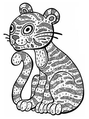 coloriage à imprimer mandala
