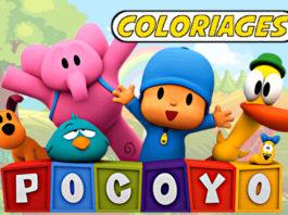 coloriage pocoyo